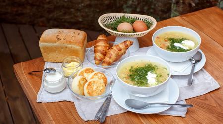 Изображение для Завтрак и суп