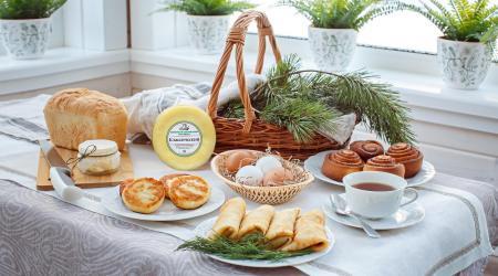 Изображение для Деревенский завтрак в коттедж